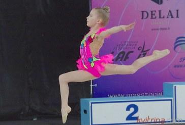 Meninės gimnastikos varžybos Prienų sporto arenoje (Foto akimirkos)