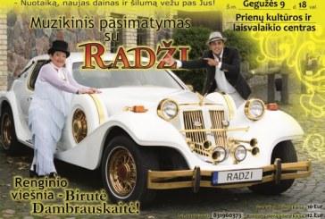 Radži koncertas Prienų KLC