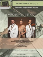 """Koncertas """"14 stygų"""" Kurhauze"""