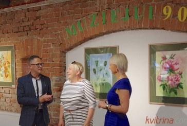 Prieniškės Vilijos Čiapaitės parodos atidarymas Zanavykų muziejuje (Fotoreportažas)