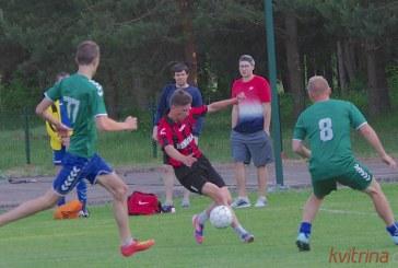 Prienų futbolo čempionato starte komandos dažniausiai išsiskirdavo taikiai