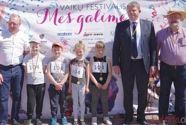 Vaikų festivalyje Prienuose – pradinukų estafetės ir šalies rinktinės narių patarimai