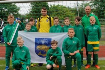 Birštono sporto centro jaunieji futbolininkai Šiaurės Jūros taurės turnyre Vokietijoje – ketvirti