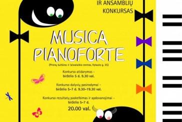 Tarptautinis jaunųjų pianistų ir ansamblių konkursas Prienų KLC