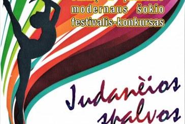 """""""Judančios spalvos"""" – modernus šokio festivalis"""