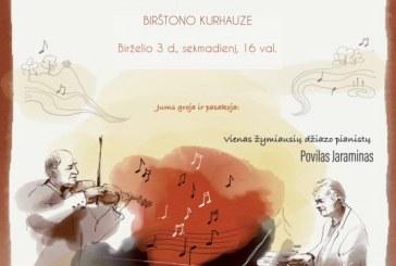 """Kurhauze """"Nuo džiazo iki klasikos"""""""