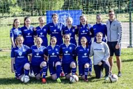 Prienų futbolininkės Lietuvos pirmenybes pradėjo kovingai, bet  pralaimėjo