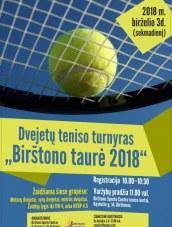 Teniso dvejetų turnyras Birštone