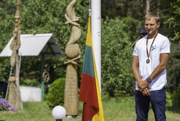 Gvidas Sabeckis –Lietuvos atviros klasės sklandymo čempionato nugalėtojas