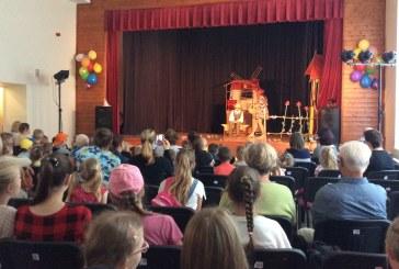 Birželio 1-ąją Jiezne surengta šventė vaikams