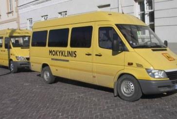 Prienų rajono mokyklos prieš naujus mokslo metus sulauks trijų naujų geltonųjų mokyklinių autobusų