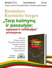 Knygos pristatymas Prienų bibliotekoje