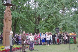 Liepos 6 d. Himno giedojimas Prienuose (Fotoreportažas)