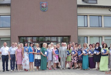 Dainų ir šokių šventėje dalyvavusių kolektyvų vadovų pagerbimo ceremonija Prienuose (Fotoreportažas)