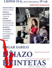 Edgaro Sabilo džiazo kvintetas Kurhauze