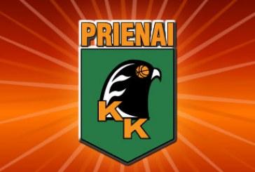 """""""Prienai"""" gavo licenciją dalyvavimui Lietuvos krepšinio lygos čempionate"""