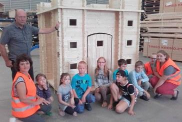 Dar viena įdomių ir įvairių veiklų savaitė Kašonių bendruomenės vaikams