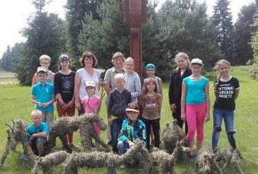 Vaikų dienos stovykla Kašonyse (organizatorių nuotr.)