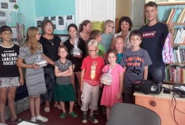 Stovyklautojus Kašonyse aplankė svečiai