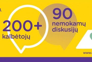 """Rugsėjo 7-8 d. Birštone – diskusijų festivalis """"Būtent!"""": net 200 kalbėtojų, 90 diskusijų"""