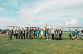 Skrydis sklandytuvais į Ukrainą – dovana Lietuvos žmonėms