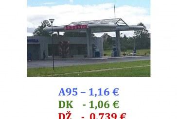 """Birštone esančios degalinės """"Borusta"""" dovana prieš mokslo metus – mažesnės degalų kainos"""