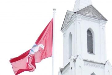 Vyčio vėliavos pakėlimas Užuguostyje (Fotoreportažas)