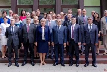 Bendradarbiavimo sutarties tarp Birštono ir Agstafa rajono (Azerbaidžanas) savivaldybių pasirašymas (Fotoreportažas)