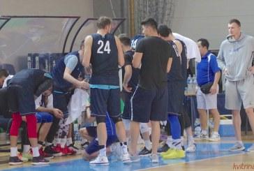 Prienuose  ne pirmą kartą treniruočių stovyklą surengė Kazachstano rinktinė