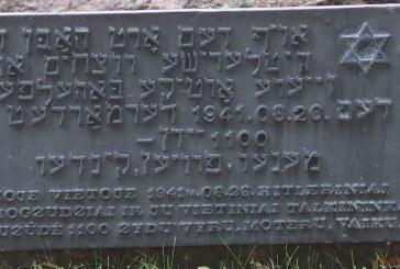 Paminėtos 77 – osios žydų sušaudymo Prienuose metinės (Fotoreportažas)