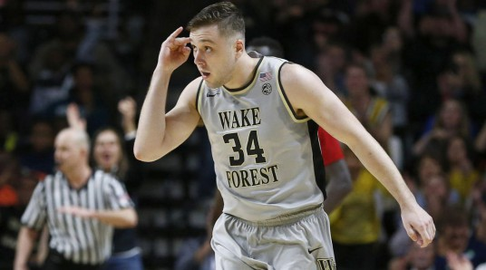 austin-arians-three-pointer-celebration-wake-forest-ACC-photo-courtesy-Jerry-Palm-1170x650
