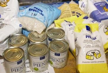 ES parama maisto produktais Prienų mieste