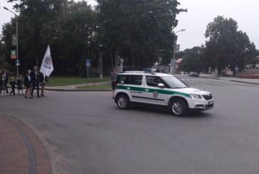 Policija primena visiems eismo dalyviams – būkite atidūs kelyje!