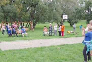 Paprienės laisvalaikio ir sporto erdvėje – miesto bendruomenių sporto varžybos