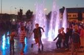 Prienuose – šviečiančio fontano atidarymas (Fotoreportažas)