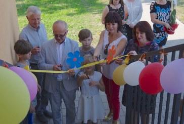 Klebiškyje oficialiai atidaryti  vaikų šeimynos namai