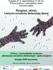 Renginys, skirtas Socialinių darbuotojų dienai