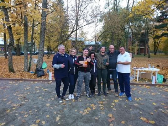 3 vieta ,,Warriors'' komanda iš Latvijos