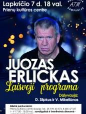 Juozas Erlickas Prienuose