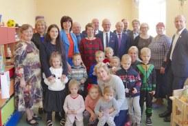 Skriaudžių mokykloje atidaryta trečioji ikimokyklinio ugdymo grupė (Fotoreportažas)