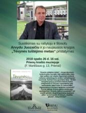 Susitikimas su Arvydu Juozaičiu
