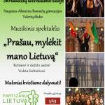 Prašau, mylėkit savo Lietuvą spaudai