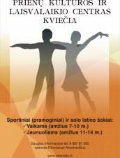 Prienų KLC kviečia vaikus mokytis šokti