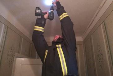 Įrengtas dūmų detektorius padės išsaugoti gyvybę