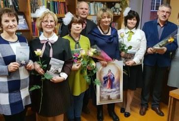 Susitikimas su rašytoja Ramute Tamošaityte-Biesevičiene