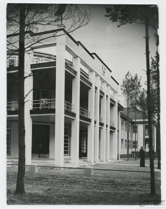 Kauno apygardos ligonių kasos rūmai Birštone (1940 m.)