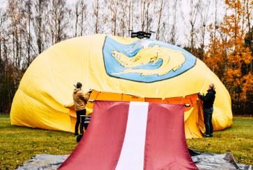 Birštonas iškėlė Latvijos vėliavą virš kurorto, o merė prakalbo latviškai