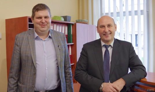 Donatas Šimukonis ir Antanas Keturakis