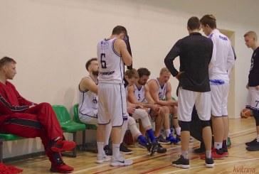 Po triuškinančio pralaimėjimo Vilniaus komandai Prienų KKSC krepšininkai pasiruošę grįžti į pergalių kelią
