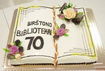 Birštono bibliotekai -70 (Fotoreportažas)
